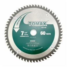TOMAX 7-1/4-Inch 60 Tooth ATB Fine Finish Saw Blade with 5/8-Inch DMK Arbor